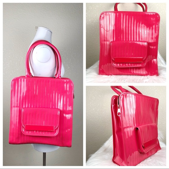 cf20c1a773e3f Ted Baker Pink patent tote